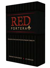 Red Fortera All Natural Male Performance Enhancement Booster - Improved Performa
