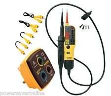 Fluke 17th Edition Electricians Electrical Testing Kit - Tester & Accessories