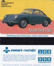 FINLAND MAGNETIC PHONECARD,CAR PORSCHE 356,.,.1..