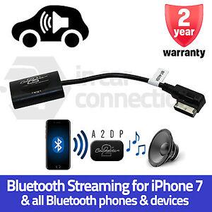 CTAAD1A2DP Audi Q5 Q7 R8 Tt A2DP Streaming Bluetooth Interfaz Adaptador IPHONE 7