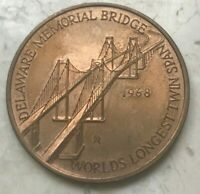 1968 Delaware Memorial Bridge Bronze Medal