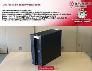 Dell Precision T5810 CTO Workstation - No CPU, No RAM, NO HDD