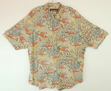 046bdf19 Vintage Reyn Spooner Mens XXL Hawaiian Shirt Reverse Fish Print Koi Beachy