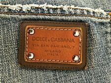 Dolce & Gabbana Designer Jeans used look blau IT 44 / Gr. 32 D&G -NP 399€ luxus