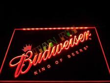 Budweiser Bud Beer Led Neon Light Sign Bar Pub Home Advertise Decor Sport Gift