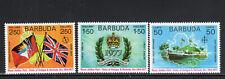 BARBUDA #263-265    1977 QEII SILVER JUBILEE  MINT  VF NH  O.G