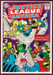 DC _ JUSTICE LEAGUE OF AMERICA # 21 _ GD/VG _ 1963 _