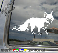 Red Fox - Vulpes Orange Red Fur - Laptop Car Bumper Vinyl Decal Sticker 01287