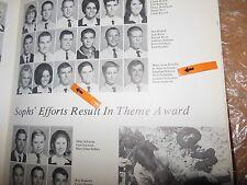 SIEGFRIED SIGI SCHMID/ORIGINAL 1969 MONTGOMERY HIGH  YEARBOOK/TORRANCE, CALIF