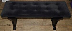 Böhm (Keyswerk) Echtholz Orgelbank schwarz für Vollpedal Höhe: 60-73cm NP=959€!