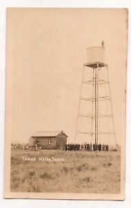 VINTAGE POSTCARD RPPC WATER TOWER TAMBO QUEENSLAND 1900s
