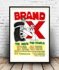 Brand X , Film poster reproduction.