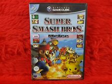 * gamecube Super Smash Bros mêlée (ni) Nintendo PAL UK version