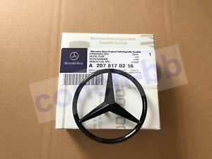 Gloss Black star badge for Mercedes E Class W207 Coupe Rear Boot A2078170216