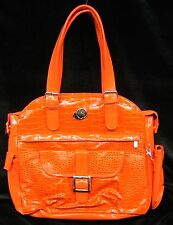 Whak Sak Ultimate Tote Travel Gym Diaper Baby Tennis Laptop Orange 15 x 16 T103
