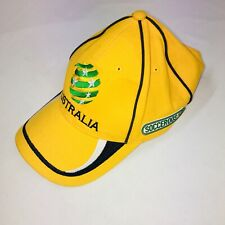 Official Australia Socceroos Soccer Adjustable Cap Hat Good Condition Free Post