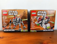 STAR WARS Lego # 75076 & 75077  Republic Gunship & Horming Spider Droid Series 2
