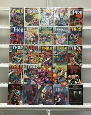 Thor Marvel  25 Lot Comic Book Comics Set Run Collection Box2