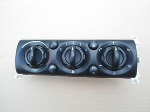 BMW MINI ONE COOPER S HEATER CONTROLS WITH AIR CON R50 R52 R53 2001-2006