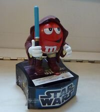 Star Wars M&Ms Mpire candy bank dispenser by Candyrific Jedi red 2010 no candy