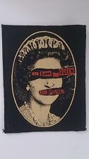 Sex Pistols God save the Queen group artist Sew On patch music LARGER
