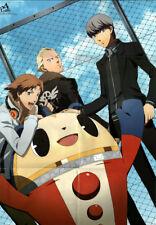 Persona 4 Guilty Crown Poster Megami Magazine 2012.02 Yu Kanji Yosuke Shu Gai