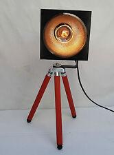 Stativ Tripod Stehlampe Design Strahler Leselampe 70er Jahre