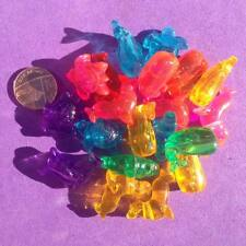 Dummy Clip Add to Favours 15 x NOVELTY Boats//Transport Pony Beads Key Rings