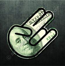 Shocker Sticker US Dollar Bill Decal JDM Car Sticker Macbook Air Pro Sticker ill