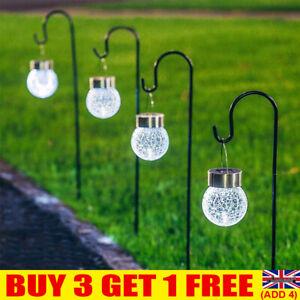 Shepherd Crook Hooks Hanger Flowerpot Stand Garden Outdoor Plant Basket Lamp UK