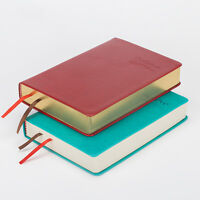 A6 Synthetic Leather Bound Bullet Journal Thick Notebook Blank Page Diary 1 pc