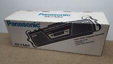 NIB Vtg PANASONIC Portable Stereo Boombox Cassette Player Radio Model RX-FM14