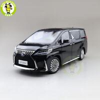 1/18 KENGFAI Toyota Lexus LM300h Black LHD Diecast Model Car TOYS Boys Gifts