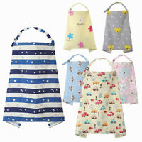 Cotton Baby Infant Breast Feeding Nursing Cover Scarf Blanket Shade Wraps Noted