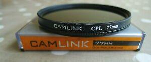 CAMLINK  77mm  CIRCULAR POLARIZING   (PL-CIR)  FILTER