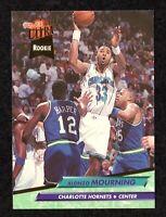 1992-93 Fleer Ultra #234 Alonzo Mourning Hornets HOF Georgetown ROOKIE Card