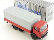 NZG 249 MERCEDES MB 709-1114 camion carrosserie publicitaires Modèle Top neuf dans sa boîte 1605-02-84