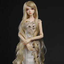 "Dollmore 1/3 BJD SD size wig  (8-9)"" Rapunzell Long Wig (Blonde)"