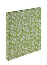 Grande Hoja Verde álbum de recortes Libro Visitas Oficina Escuela Papelería Katz