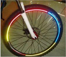 8 Bicicleta Reflector = 1 Arcos Pegatinas Felgenreflektoren de Seguridad