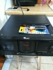 Sony Mega Storage 200 Disc CD Player Changer CDP-CX235 W Remote Carousel