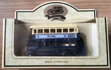 LLEDO DOUBLE DECKER SHEFFIELD CORPORATION BUS - SHEFFIELD STAR DIE-CAST MODEL