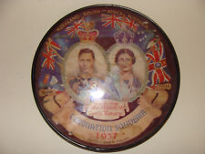 1937 Coronation Souvenir King George VI & Queen Elizabeth  UK British Royalty