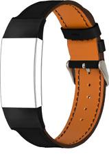 Topp - Armband Fitbit Charge 3, Echt-Leder Armband, schwarz, *BRANDNEU*