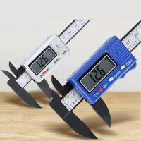 100mm LCD Digital Electronic Carbon Fiber Vernier Caliper Gauge Micrometer NEW