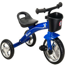 Kiddo Blue 3 Wheel Smart Design Kids Child Children Trike Tricycle Ride-On Bike