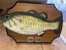 New listing Big Mouth Billy Bass The Singing Sensation Vtg 1999 Gemmy Industries Works Read