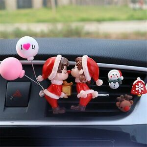 Lovely Scent Aromas Diffuser Freshener Car Air Vent Christmas Perfume Clip