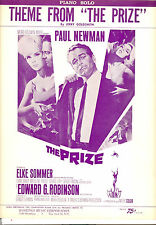 "THE PRIZE Sheet Music ""Theme From"" Paul Newman Elke Sommer"