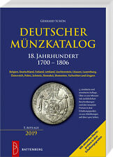 Deutscher Münzkatalog 18 Jahrhundert 1700-1806 Übersicht Katalog Preise Buch NEU
